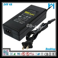 100w 24 volt power switching supply /switching power adapter for led /cable tv power supply
