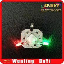 LED button light for flashing toys, mini clap hand light