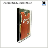 manufacture acrylic football jersey case customized jersey frame