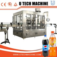 Auto Bottle Filling System/Plant/Production Line For Carbonated Water