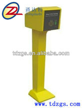 User friendly residential parking machine with automatic payment