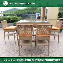 unique new product rattan bar table and bar chair furniture outdoor