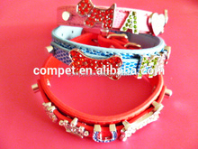Dog Bone Crown Charms Slider Letters Decorated 10mm Directly Through DIY Pet Dog Collars