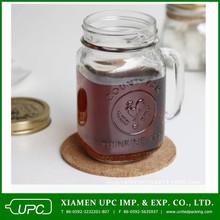 20 oz glass mason jar with handle