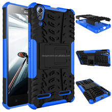 Armor Case with Slim Stand custom case cover for Lenovo A6000 plus