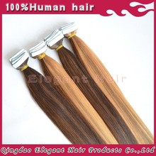 Aliexpress India Two Tone Blonde Tape Hair Extension Raw Unprocessed Virgin Indian Hair