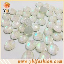 korean quality 12mm shining resin strass crystal for shoes