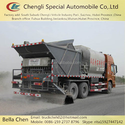 HOWO 6*4 pavement maintenance, synchronous pavement sealer