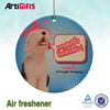 Hot Sale hanging good paper wholesale card air freshener