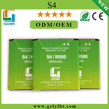 Wholesales price long time battery dual sim card mobile phone for s4 i9500