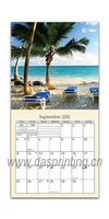 Hot selling cane wall scroll calendar with low price