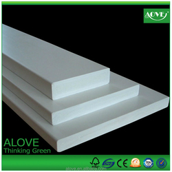 High quality cheap price formaldehyde free expanded PVC celuka sheet for poster/advertising board,furniture board,carving board