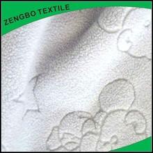 bonded jacquard polar fleece fabric wholesale