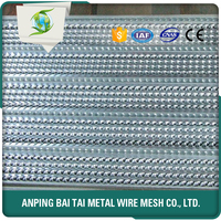 MY TEST Hot Galvanized Steel Sheet High Hy--Rib Mesh