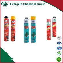 750ml one component expanding polyurethane PU foam sealant , waterproof pu foam