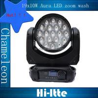 Chameleon-I 19x10W aura beam wash zoom stage effect fire machine/stage lighting
