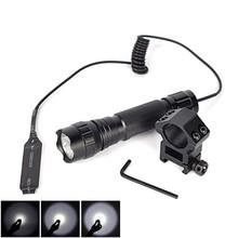 wf-501b ultrafire police portable 3 watt cree q5 LED flashlight with 18650 battery