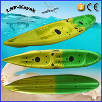 double kayak fishign kayak No inflatable material from CIXI Luosaifei LLDPE boat