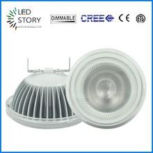 LED Light Source and Aluminum Lamp Body Material AR111 COB