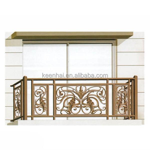 modern decorative brass color porch veranda aluminum. Black Bedroom Furniture Sets. Home Design Ideas