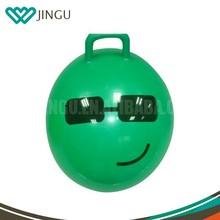 handle jumping ball