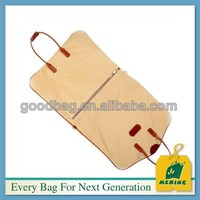 Plain folding non woven suit cover bags with handle