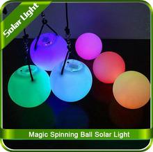 LED Light Magic Spinning Ball