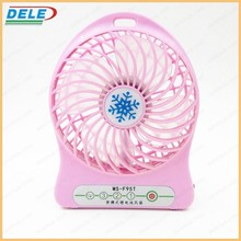 outdoor activities and camping rechargeable desk usb fan