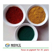 Different color fe2o3 ferric oxide pigment and red powder for road paint paste/concrete/ceramic