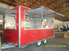 Multi-function Food Cart /China Food Trailers/multi-function mobile pizza van for sale/hot do cart