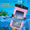 2015 new waterproof mobile phone pouch for iphone 6, pvc waterproof pouch for swimming