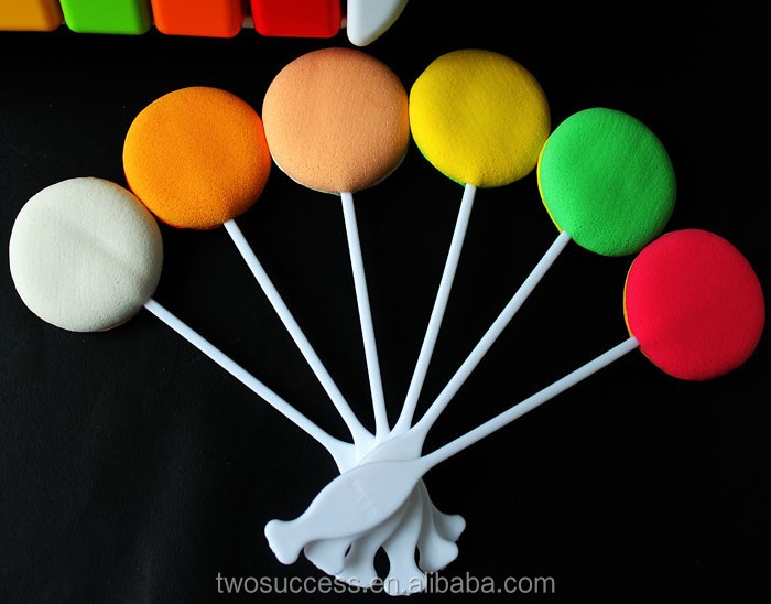 candy color cosmetic powder puff stick .jpg