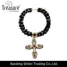 Fashion jewelry shell strand neckalce