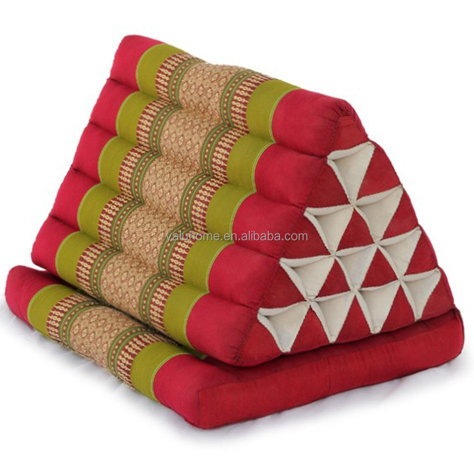 Thai Folding Triangle Pillow - Buy Thai Folding Triangle Pillow,Thai Folding Triangle Pillow ...