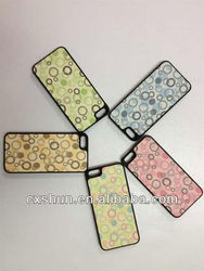 Color beads mobile case for iPhone 5