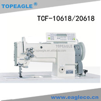 TOPEAGLE TCF-20618 double needle walking foot industrial sewing machine price