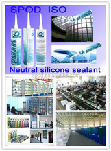 Silicone china factory, clear silicone sealant, 3 min dry time