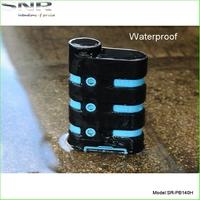 Elegant Design Waterproof / Dustproof / Shockproof Mobile Charger 9000mah IP67 Power Bank for Phone
