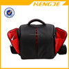 Black multifunction nylon waterproof digital camera bag top quality