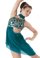 MB2015262 Adult soft net sequin sexy belly dance dress costumes