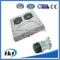 High Cooling Capacity TKT-60V DC12V/24V Mini Bus Air Conditioning With SD5H14 Compressor