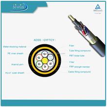 For Best Price ADSS Double Sheath 48 Core Fiber Optical Fiber