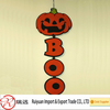 2015 durable pumpkin and spider felt halloween hanging ornament for gifts