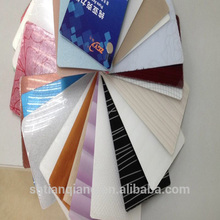 colorful acrylic edge banding of pvc for home furniture