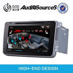 Audiosources:the new hight end design car dvd player for vw new beetle car radio with free SIGIC map