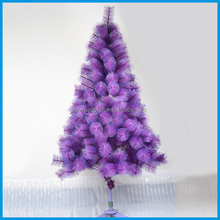 Hot Selling Purple Christmas Tree Artificial Christmas Tree With Blue Paillettes