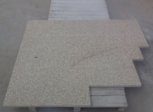 G350 yellow granite swimming pool border tile, swimming pool bullnose tile, swimming pool edge tile