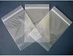 Qingdao Plastic Bag Resalable Zipper Bag