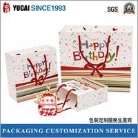 New design birthday gift paper bag