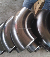 DN500 BW carbon steel elbow ASTM A420 WPL6 for pipe line